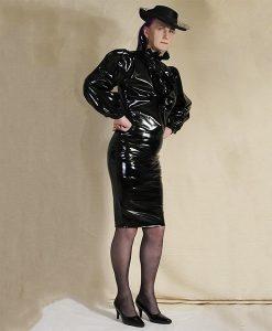 Black-pvc-multi-blouse-and-gloss-pvc-pencil-skirt-opt