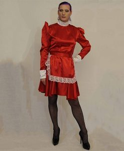 Red-acetate-maids-outfit