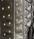 Studded-underbust-leatherette-corset-closeup