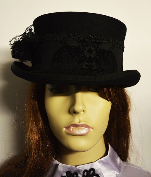 Dressage wool top hat