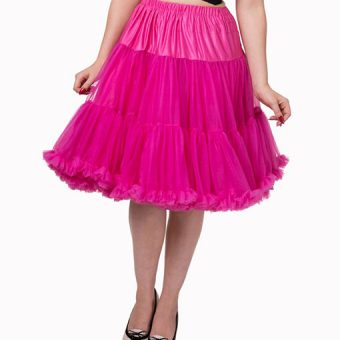 Vintage-Style-Lifeforms-Petticoat-Hot-Pink