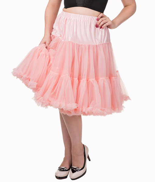 Vintage Style Lifeforms petticoat light pink