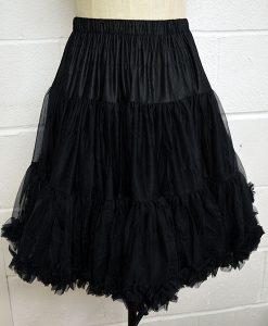 vintage style walkabout petticoat black