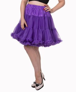 Vintage Style Walkabout petticoat purple