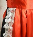 red-satin-apron-close-up