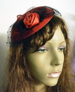 Rose & Net Fascinator