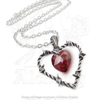 Alchemy Love imprisoned necklace