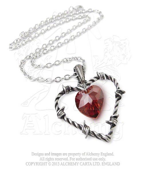 Alchemy Love imprisoned necklace
