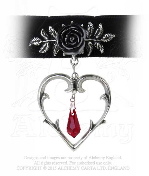 wounded in love choker