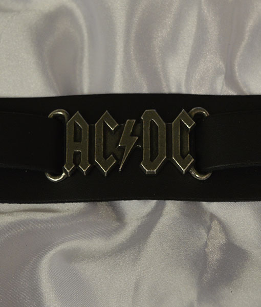 Alchemy Rocks AC/DC Leather Wriststrap