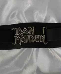 Alchemy Rocks Iron Maiden Logo Leather Wriststrap