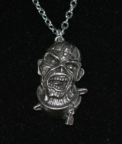Alchemy Rocks Iron Maiden Peace Of Mind Eddie Pendant