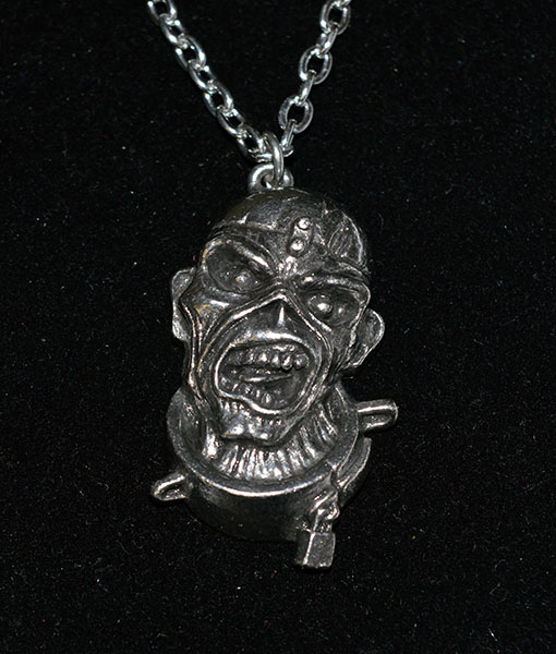 Alchemy Rocks Iron Maiden Peace Of Mind Eddie Pendant
