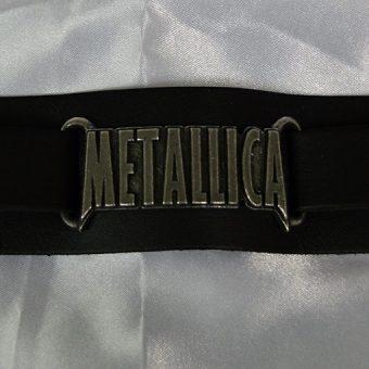 Alchemy Rocks Metallica Logo Wriststrap