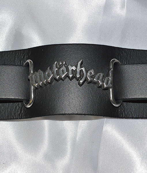 Alchemy Rock Motorhead Logo Leather Wriststrap