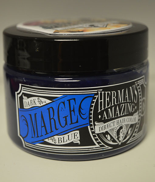 Hermans amazing direct hair color Marge blue