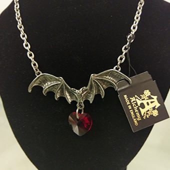 Vampire Loveheart Necklace