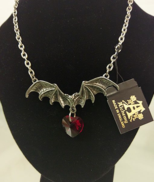 Vampire Loveheart Necklace