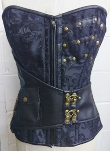 Brocade Belt With Pocket Clasps