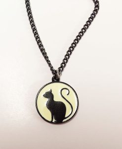 Meow At The Moon Necklace