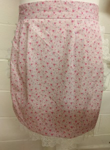 Pink Cotton Floral Apron