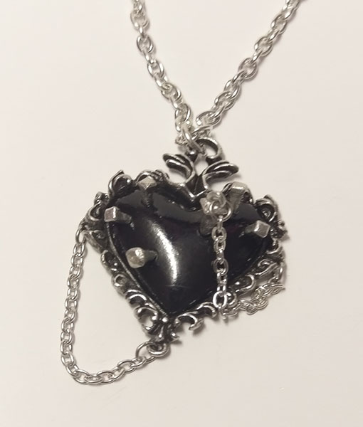 Witches Heart Pendant