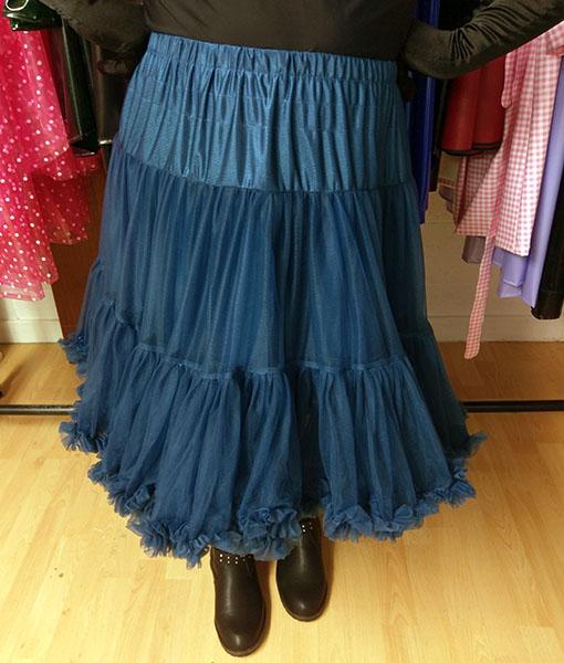 Navy Blue Vintage Retro Style Starlite Petticoat