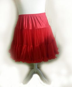 Red Vintage Style Starlite Petticoat