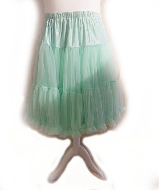 Mint Green Vintage Style Starlite Petticoat