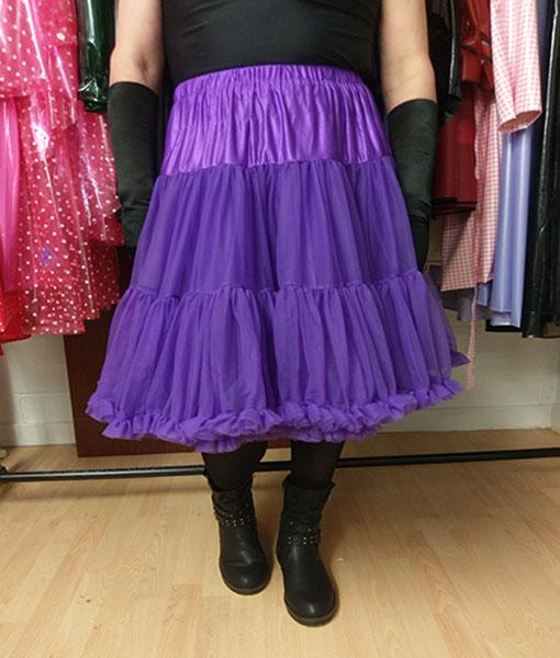 Purple Vintage Retro Starlite Petticoat